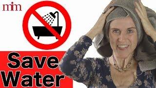 Wash Your Hair With Only 1gal of Water! Save Water & Protect Your Hair | Tutorial