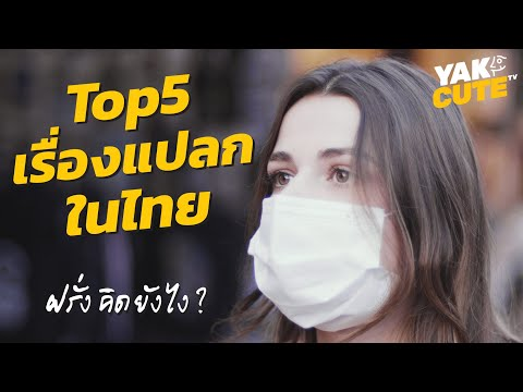 TOP5 เรื่องแปลกในไทย • TOP5 Strangest Things in Thailand (for foreigners)