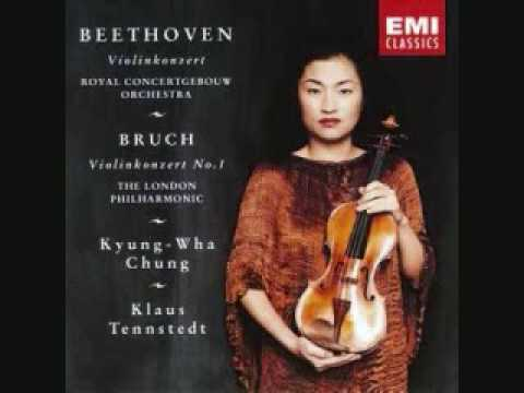 Kyung Wha Chung - Bruch Violin Concerto Mov. 1