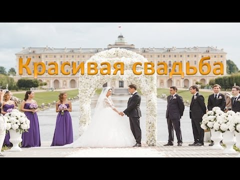 Красивая свадьба в Екатерининском парке, Царское село. Красивая свадебная съёмка –искусство для Вас!