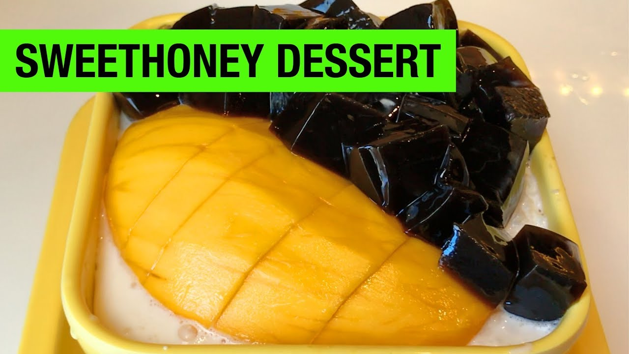 Sweet honey dessert