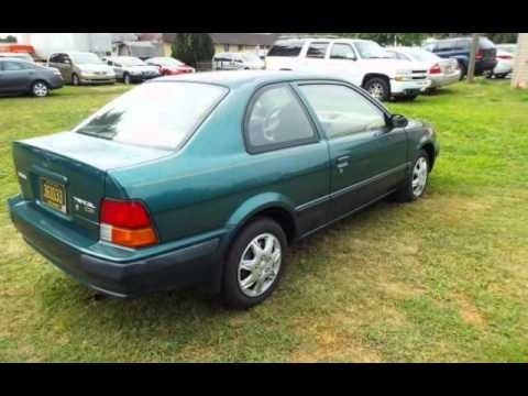 1997 toyota tercel ce for sale in dover de youtube. Black Bedroom Furniture Sets. Home Design Ideas