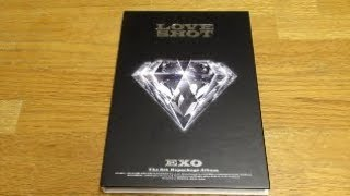 Unboxing EXO 5th Full Album Repack Love Shot Love ver
