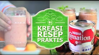Nestlé Indonesia - Kreasi Resep Praktis - #3 Strawberry Melon Smoothies