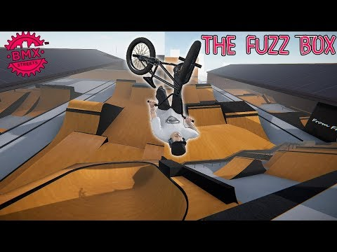 BMX Streets PIPE - Riding The New FuzzBox Mod Park!