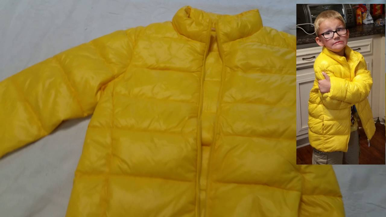 9b15c3fe0 M2C Boys  Ultralight Packable Down Puffer Jacket - YouTube