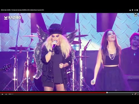 DELIA feat. KAIRA - Pe Aripi de Vant (by KAZIBO) LIVE la Media Music Awards 2014