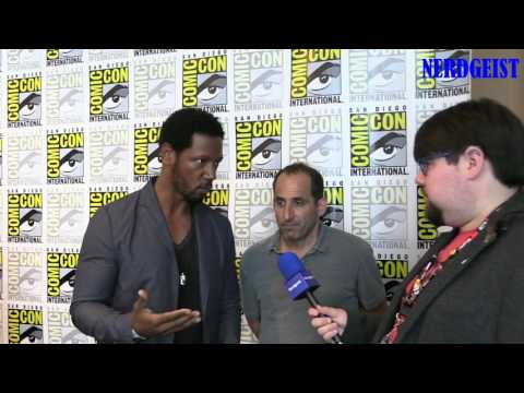 Interview with Tory Kittles and Peter Jacobson at San Diego Comic-Con 2016