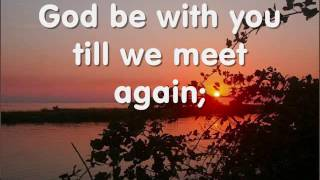 Watch Jim Reeves God Be With You video