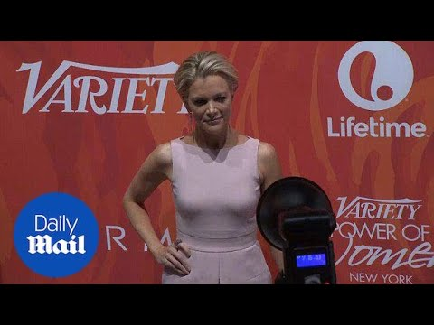 Pretty in Pink: Megyn Kelly at Variety's Power of Women event - Daily Mail