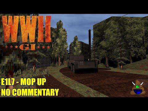 World War II GI - E1L7 Mop Up - No Commentary |