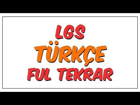 LGS Türkçe Ful Tekrar