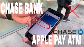 ✅  How To Use Chase Cardless ATM Withdrawal With Apple Pay Wallet 🔴