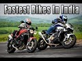 🏍Best & Fastest Super Bikes in India (With their Top Speed Videos)-Top 10 Fastest Bikes 🏍