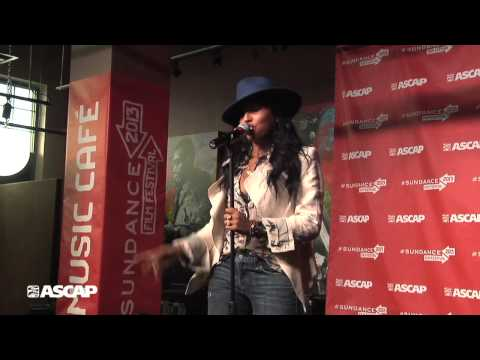 Melanie Fiona  Give It To Me Right  The Sundance ASCAP Music Café