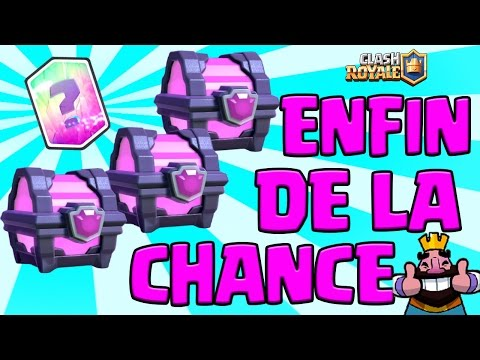 LA CHANCE avec moi | GROS Opening de QUALITE | Clash Royale