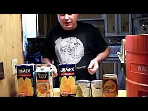 High Dollar Moonshine Recipe- Honey Mango Brandy / Wine