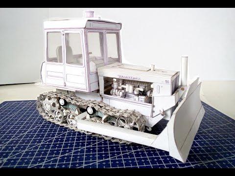 Модель трактора ДТ-75МЛ