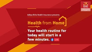 Health from Home – Cardio Pilates at Home by Shalini Bhargava