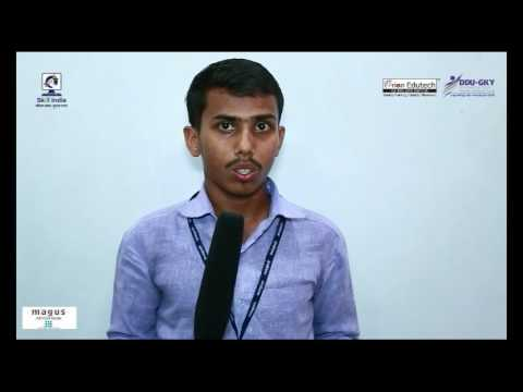 Orion Edutech student, Madhurya Saikia, from Assam (trained under DDUGKY project)