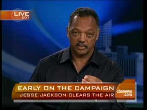 Jesse Jackson Explains Remarks