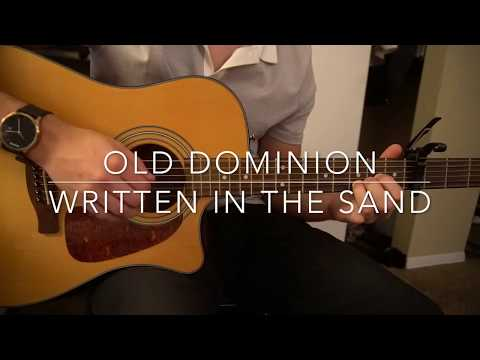 Written in the Sand // Old Dominion // Easy Guitar Lesson