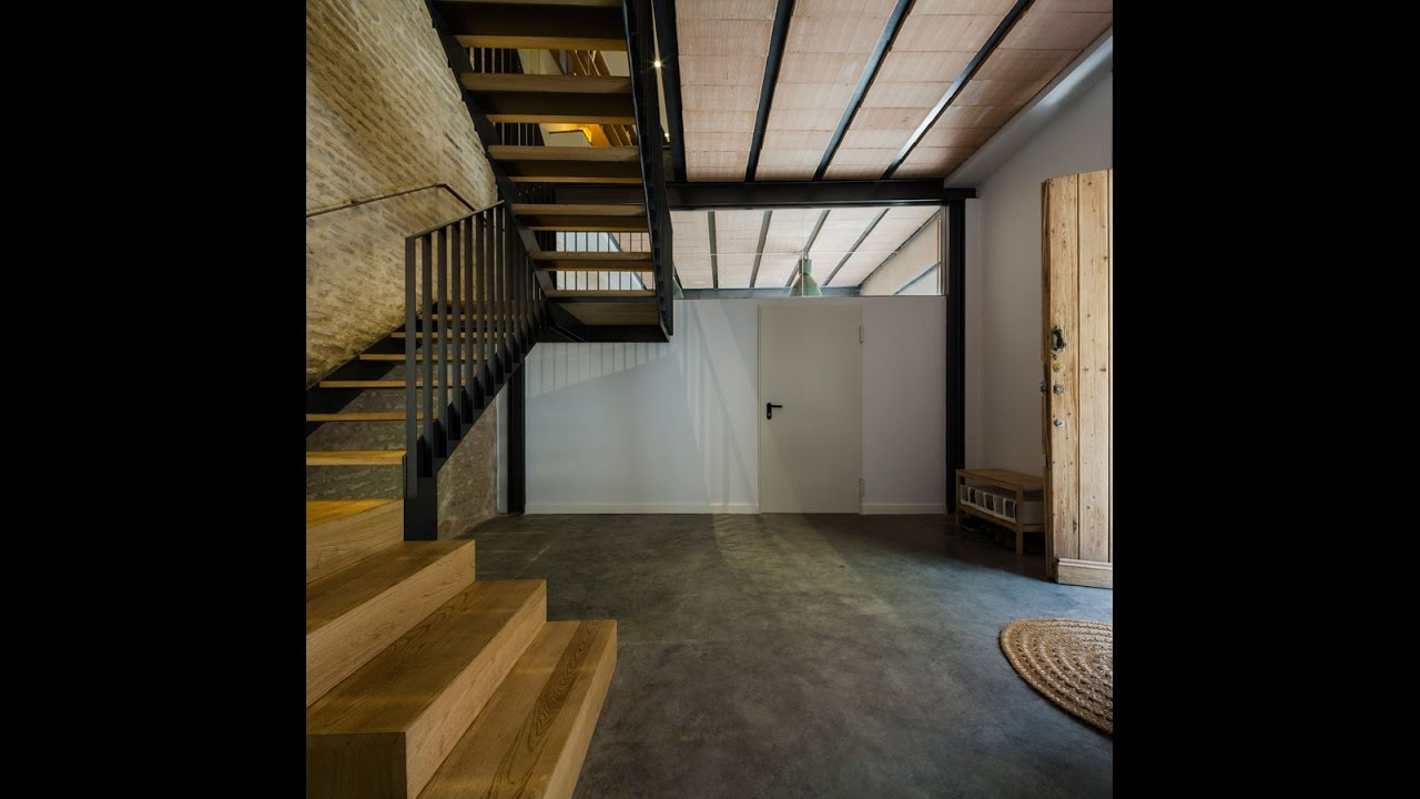 Small Old House Renovation With Mixing Old New Concept