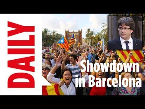 Showdown in Barcelona – Kommt heute die Abspaltung? | BILD DAILY 10.10.17