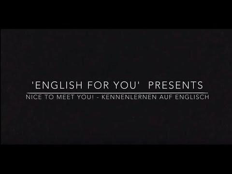 Sich selbst kennenlernen englisch