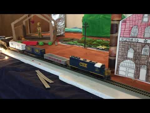 RVAs Binford Middle School Model Railroad Showcase 2020