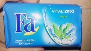 FA aquatic fresh bar soap vitalizing Aqua review