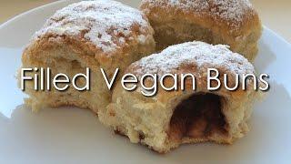 Filled Vegan Czech Buns - Recipe | Hclf Vegan