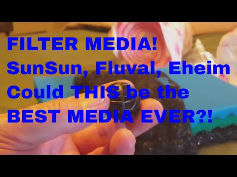 FILTER MEDIA! SunSun, Fluval, Eheim ... Could THIS Be The BEST MEDIA For You?