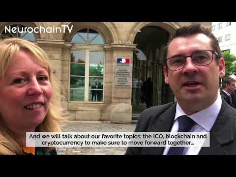 (ENG) NeuroChain meets with the French Minister of the Economy, Bruno Le Maire