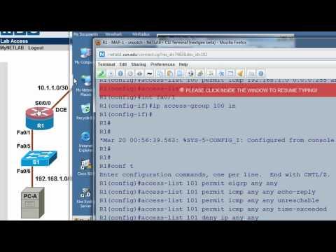 Cisco Stateful Firewall using CBAC - Part 3