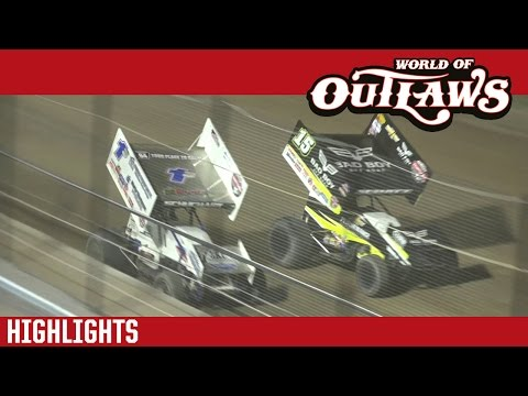 World of Outlaws Craftsman Sprint Cars Weedsport Speedway May 22nd, 2016 | HIGHLIGHTS