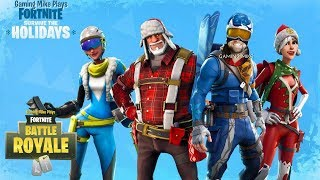 Survive the Holidays! NEW UPDATE Weapons Emotes Skins - Fortnite: Battle Royale v1.11 [ps4 1080p60]
