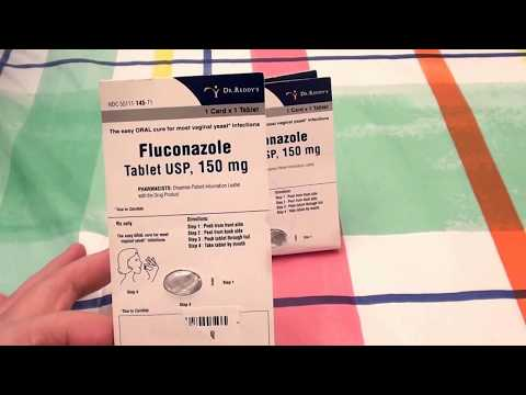 DIFLUCAN Fluconazole ANTIFUNGAL CANDIDA, YEAST, STOMACH FLORA PROBLEMS