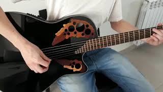 Guitarra electroacustica ovation celebrity CE44-5. se vende.