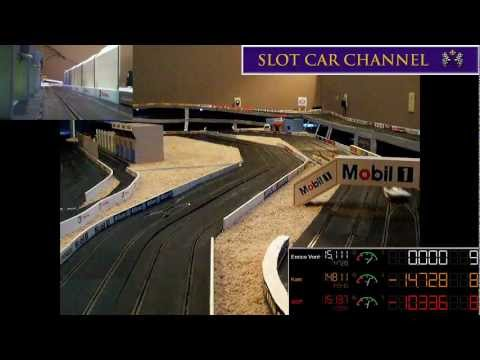 Slot car track royalering club night 11 08 12 60 lap 1 32 scale slot car race youtube - Scalextric sport digital console ...