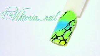 Маникюр. Дизайн ногтей. Неоновые пигменты. Акриловые краски.(, 2016-03-26T10:33:21.000Z)