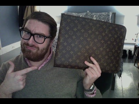 Louis Vuitton What's in My Bag - Poche Document