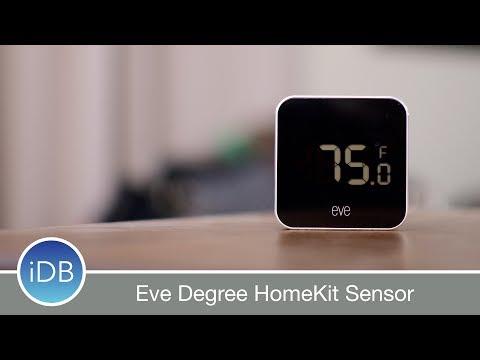 Elgato Eve Degree - HomeKit Enabled Temperature & Humidity Sensor Review
