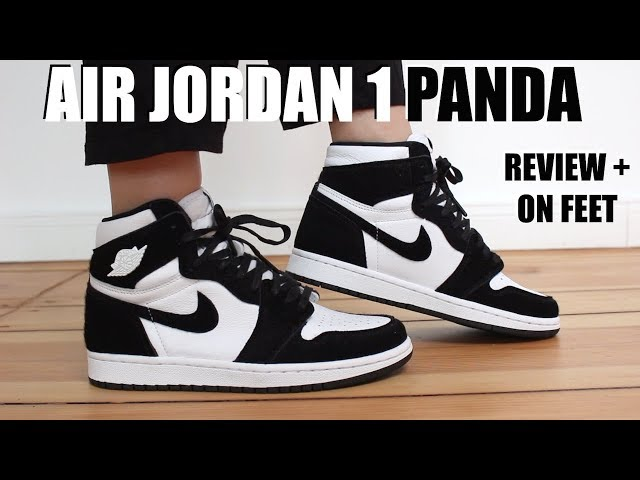 air jordan 1 high twist panda mujer