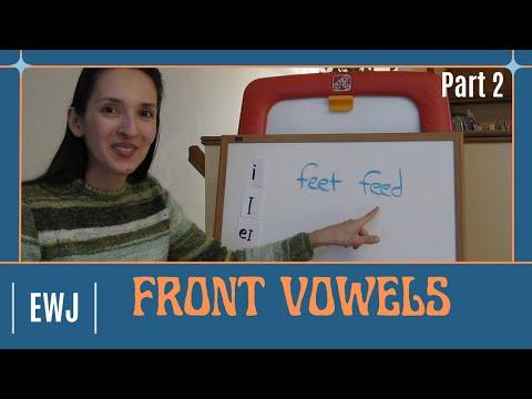 Pronunciation of English Vowel Sounds 2 - Front Vowels, Part 2