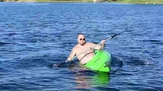 Tipping Over a Kayak