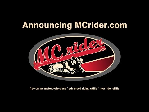 MCrider.com: Free online motorcycle classes - Episode 1