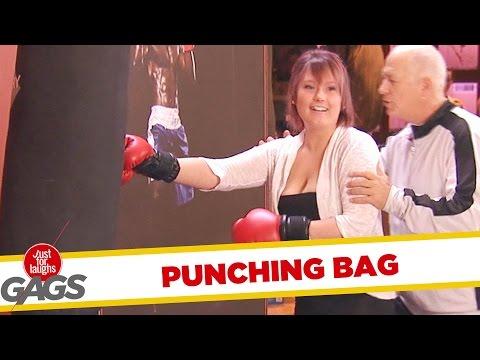 Punching Bag Prank