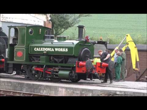 LITTLE LOCO EVENT AT WASHFORD STATION WSR 29 MAY 2017 Part 1