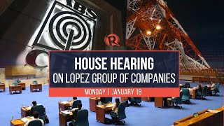 House hearing on Lopez Group of Companies